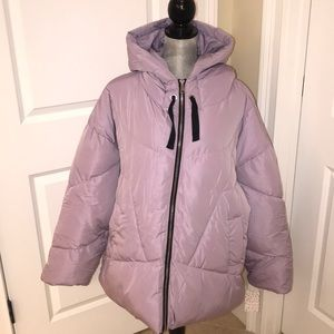 Free People Hailey  hooded puffer coat